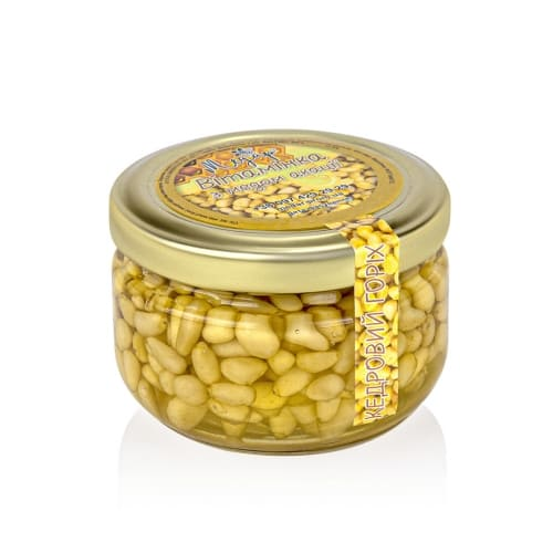 Мед с кедровыми орешками