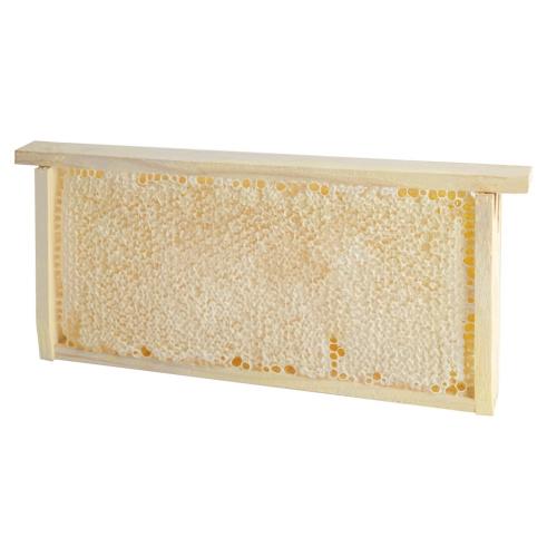 Мед в сотах на рамке