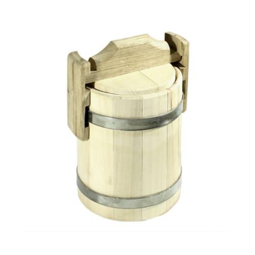 Мед в бочонке 1 литр
