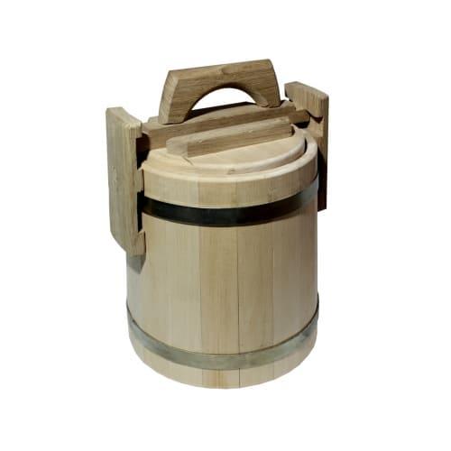 Мед в бочонке 3 литра