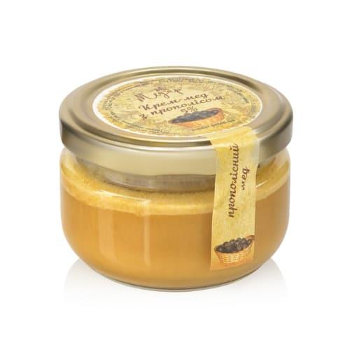 Крем-мед с прополисом