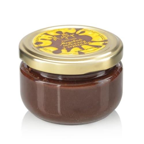 Медовый шоколад с орехами
