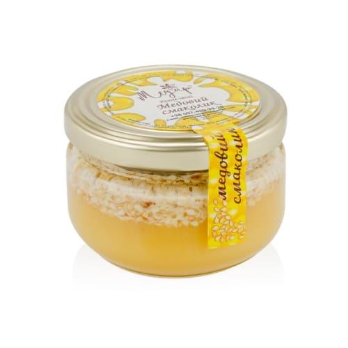 Крем-мед с кунжутом