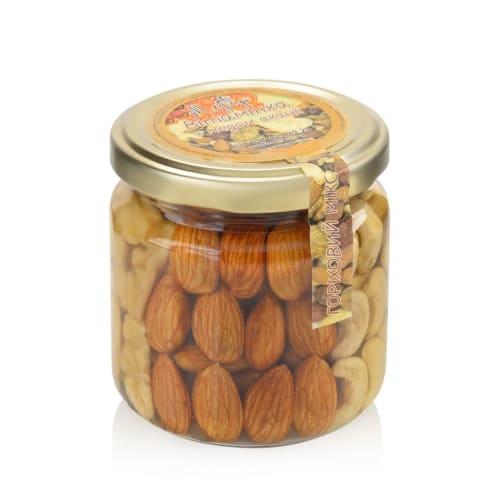 Орехи ассорти с медом акации